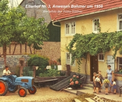 Elterhof Bahmer um 1958
