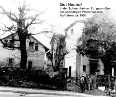 Gut Neuhof 1950 Schweinheimer Str