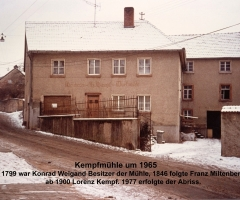 Dorfmühle 1965 Hensbachstr