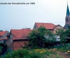 Dorfmühle 1968 Rückseite