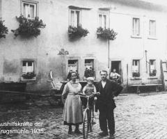 Krugmühle Aushilfskräfte 1935