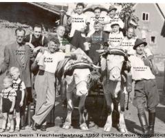 Trachtenfestzug 1952