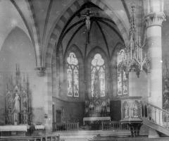 Maria Geburt Innenraum 1900