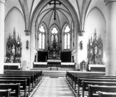 Maria Geburt Innenraum nach Umgestaltung 1955
