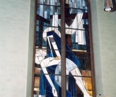 Maria Geburt Roos Fenster 1961