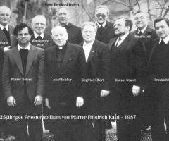 Pfr. Friedrich Kastl 25-jähr. Priesterjubiläum