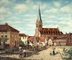 Kirche Maria Geburt von Süden - v. Kurt Bender