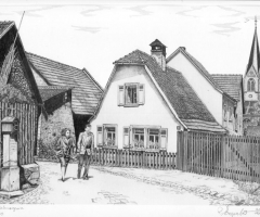 Bahmersgasse - v. Rainer Erzgraber 1983