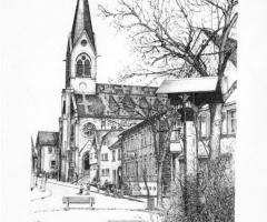 Kirche Maria Geburt - v. Rainer Erzgraber 1982
