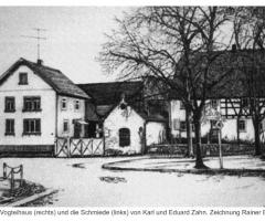 Vogteihaus Schmiede Zahn - v. Rainer Erzgraber