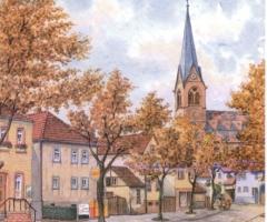 Marienstr Kirche - v. Willi Kunkel 2000
