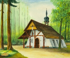 Obernauer Kapelle - v. Ignaz Schad 1974