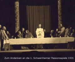 Passionsspiele 1931-34 Abendmahl 1