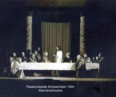 Passionsspiele 1931-34 Abendmahl