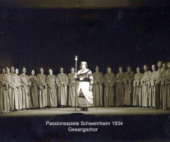 Passionsspiele 1931-34 Gesangschor
