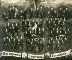 Sängerbund 50 Jahre 1933