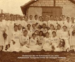 TVS Festdamen 1915