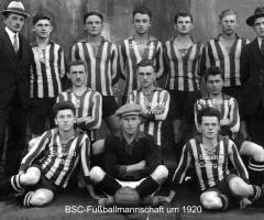 BSC Fußball-Mannschaft 1920