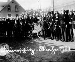 Feuerwehr Schweinheim 1934