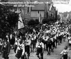 Fidelio 40 Jahre Spessartbundesfest 1953