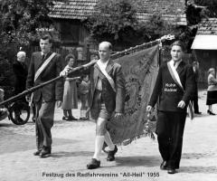 Radfahrverein All-Heil Festzug 1955