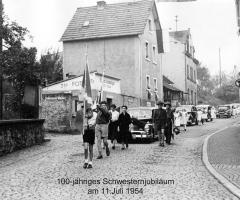 St. Johannis-Zweigverein 100 Jahre Schulschwestern 1954