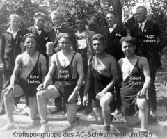 AC Germania Kraftsportgruppe um 1925