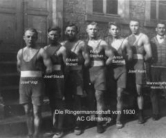 AC Germania Ringer-Mannschaft 1930