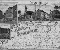 Ansichtskarte Schweinheim 1897