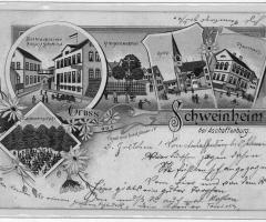 Ansichtskarte Schweinheim Schwindbrauerei