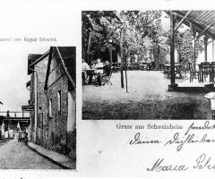 Ansichtskarte Gasthaus Alte Brauerei Rosengasse (1)