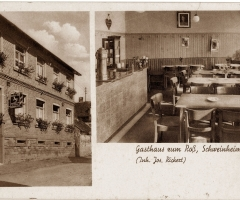 Ansichtskarte Gasthaus Zum Ross Althohlstr
