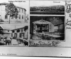Ansichtskarte Gasthaus Zum Prinz Luitpold Zur Linde