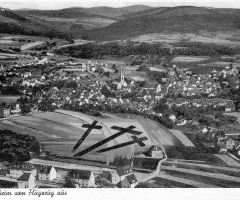 Ansichtskarte Schweinheim Luftaufnahme