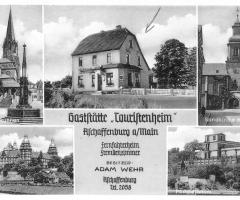 Ansichtskarte Gaststätte Touristenheim 1940