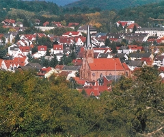 Erbig Blick auf Schweinheim