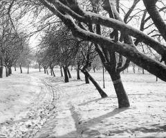 Grubenweg Winterlandschaft