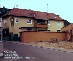 Althohlstr 26 Gärtnerei Herbig 1979