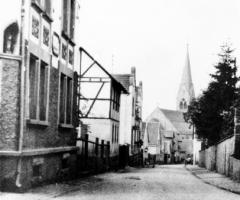 Althohlstr Richtung Kirche