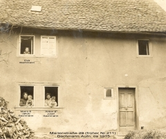 Marienstr 29 Anwesen bachmann um 1915