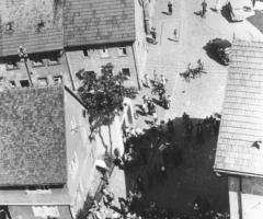 Marienstr Kirchturm Blick nach unten 1 16