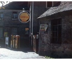 Marienstr Tankstelle 1960