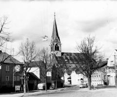 Marienstr Tankstelle Zahn um 1960