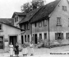 Marienstr um 1920