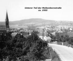 Molkenbornstr unterer Teil ca 1955