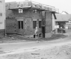 Schulzengasse 1982 Rohbau