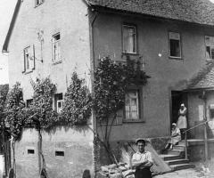 Schulzengasse 4 Adam Fäth um 1926