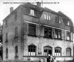 Schweinheimer Str 79 Gasthaus Schweinheimer Höhe ca 1930