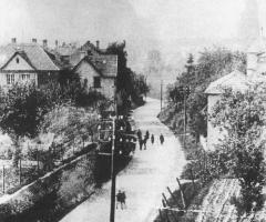 Schweinheimer Str um 1910