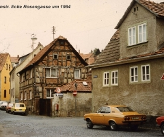 Seebornstr Ecke Rosengasse bis 1985